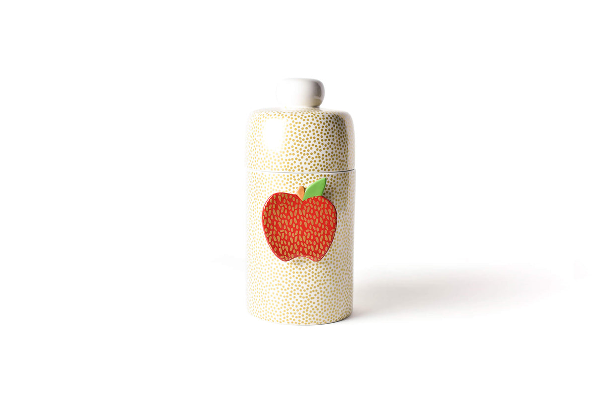 Gold Small Dot Mini Canister