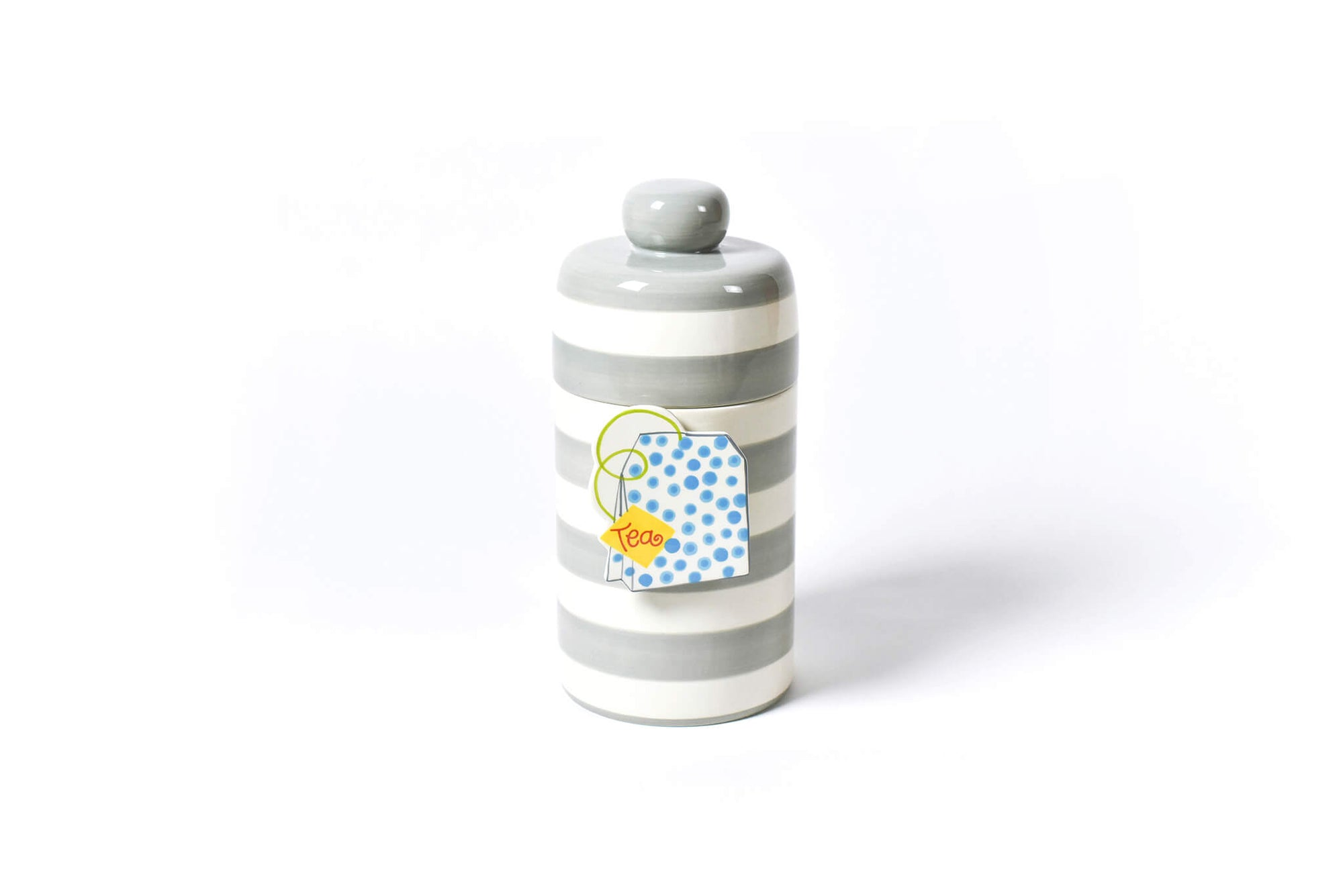Stone Stripe Mini Canister