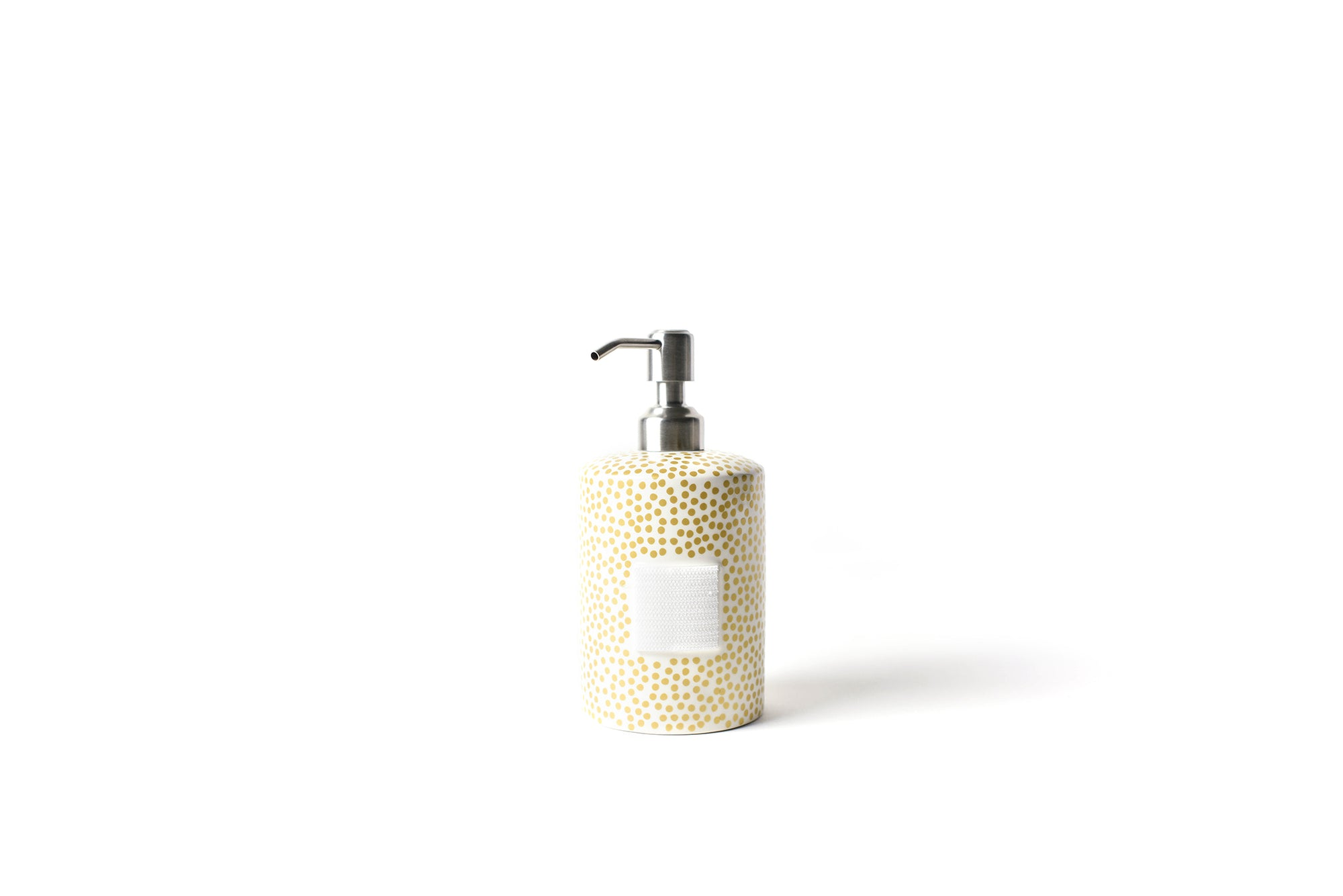 Gold Small Dot Mini Cylinder Soap Pump