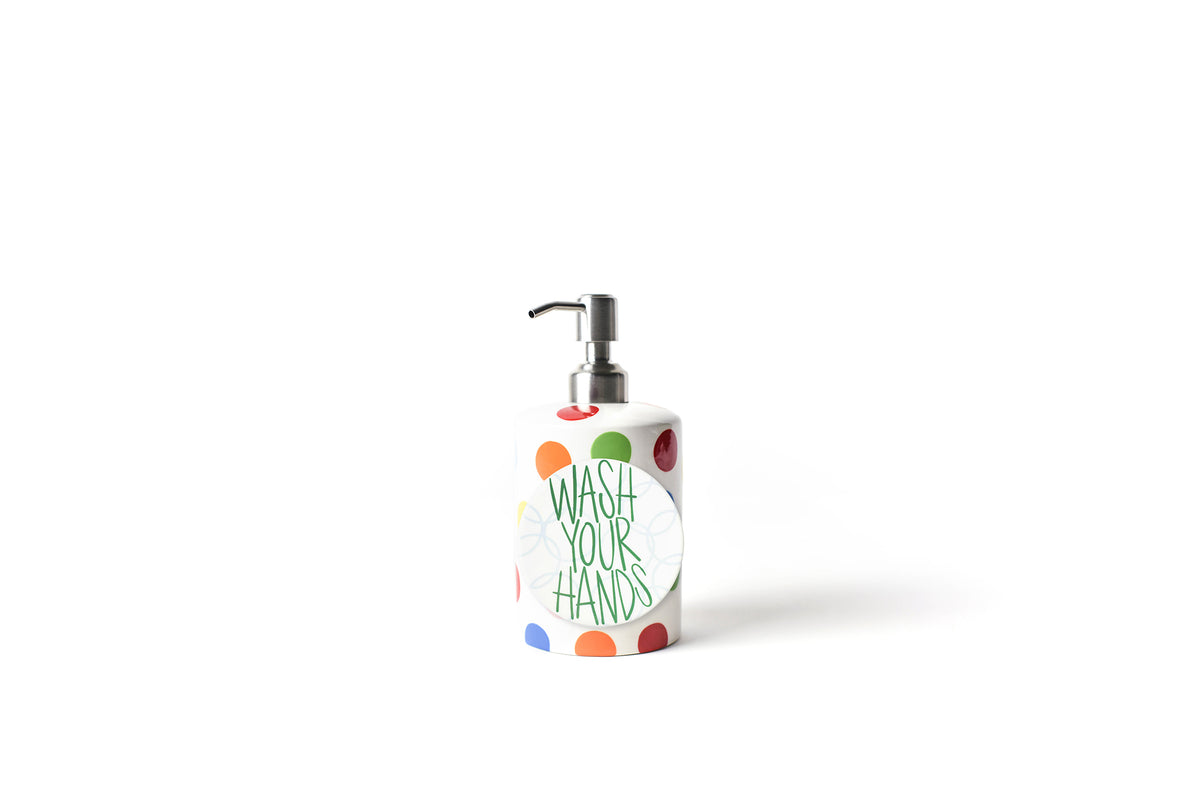 Bright Dot Mini Cylinder Soap Pump