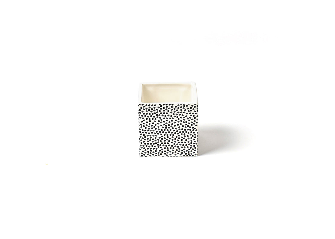 Black Small Dot Small Mini Nesting Cube