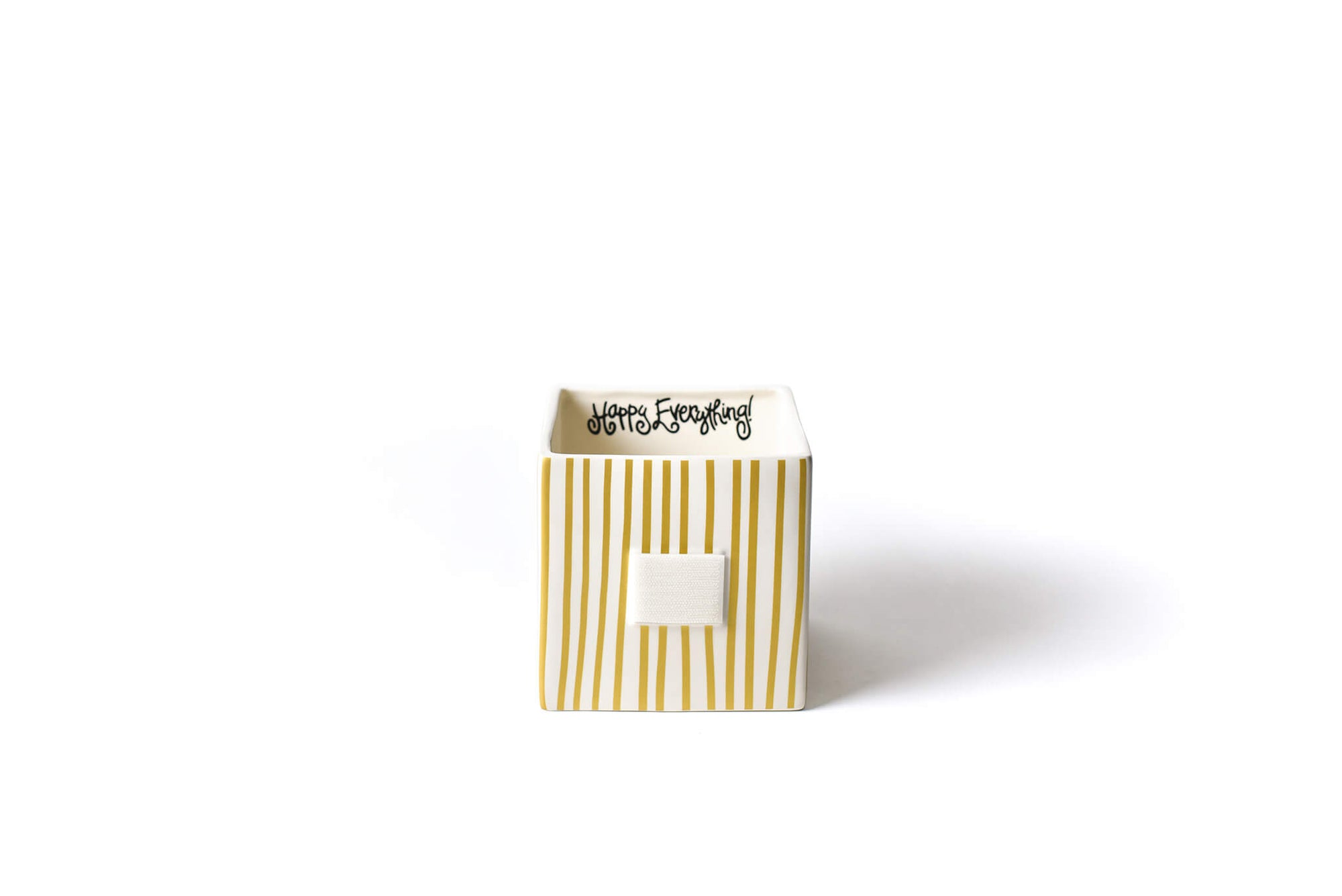 Gold Stripe Mini Nesting Cube Medium