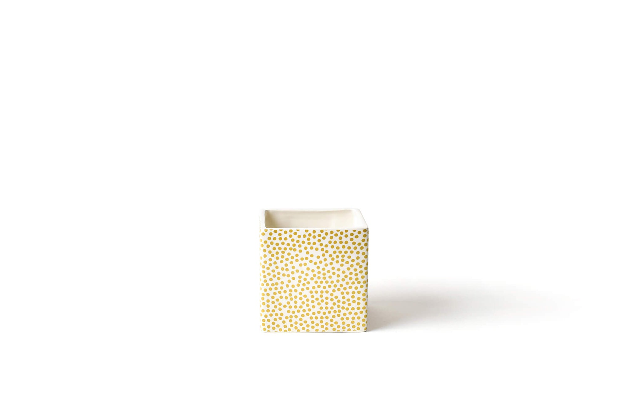 Gold Small Dot Mini Nesting Cube Small