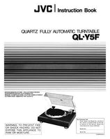 JVC QL-Y5F Turntable Owners Instruction Manual Reprint
