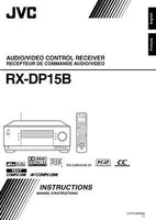 JVC RX-DP15BC Receiver Owners Instruction Manual Reprint
