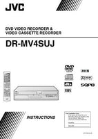 JVC DR-MV4SUJ DVD Recorder Owners Instruction Manual Reprint