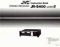 JVC JRS-400Mk2 Receiver Owners Instruction Manual Reprint