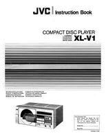 JVC XL-V1 CD Player Owners Instruction Manual Reprint