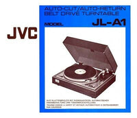 JVC JL-A1 Turntable Owners Instruction Manual Reprint