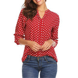 Vintage Polka Dot Top