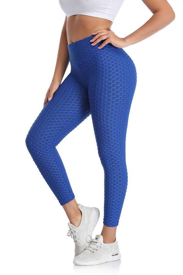 Ankle-Length Push Up Breathable Leggings - Dots Clothing Store