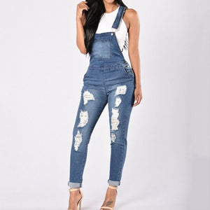 Classic girl next door jumpsuit - Dots Clothing Store