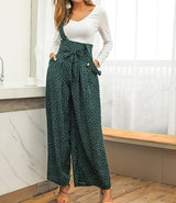 Colorful point print loose pants - Dots Clothing Store