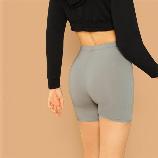 Cycling High Waist Leggings - Dots Clothing Store