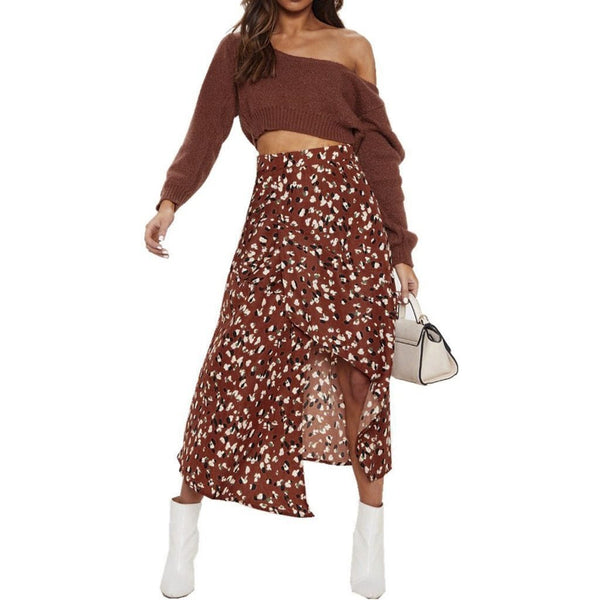 Dots floral midi skirt - Dots Clothing Store