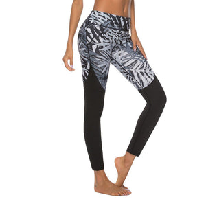 Ethnic Style Print Sports Leggings - Dots Clothing Store