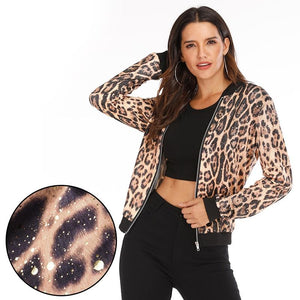 Evergreen Floral Spring Long Sleeve Jackets - Dots Clothing Store
