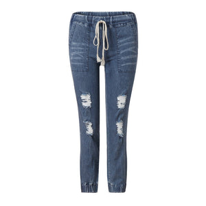 Fashionistas high waist slim fit jeans - Dots Clothing Store