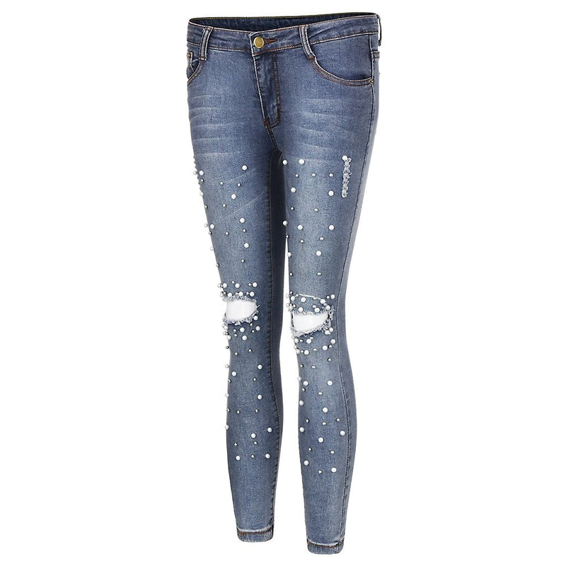 Forever close slim fit jeans - Dots Clothing Store