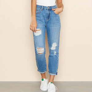 Forever miss you high waist jeans - Dots Clothing Store