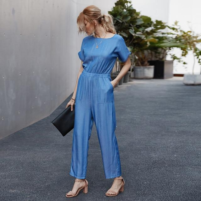 Girl fashion jumpsuit - Dots Clothing Store