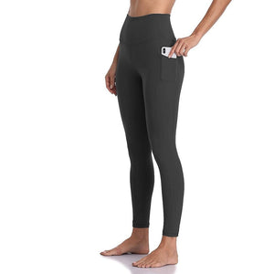 High Waist Pockets Push Up Leggings - Dots Clothing Store