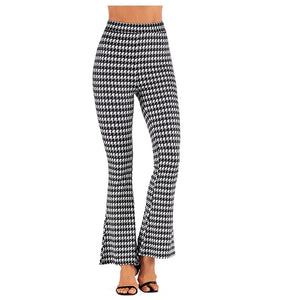 Out for a walk Wide Leg Flare Pants - Dots Clothing Store