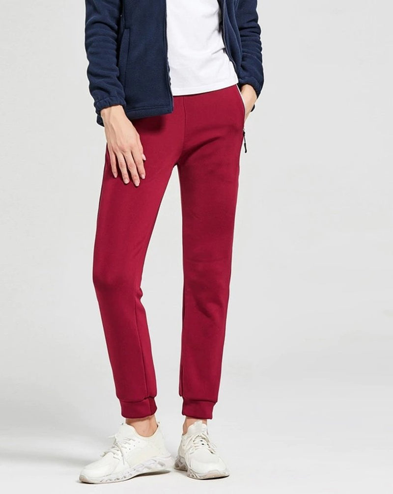 Pure color long pants - Dots Clothing Store
