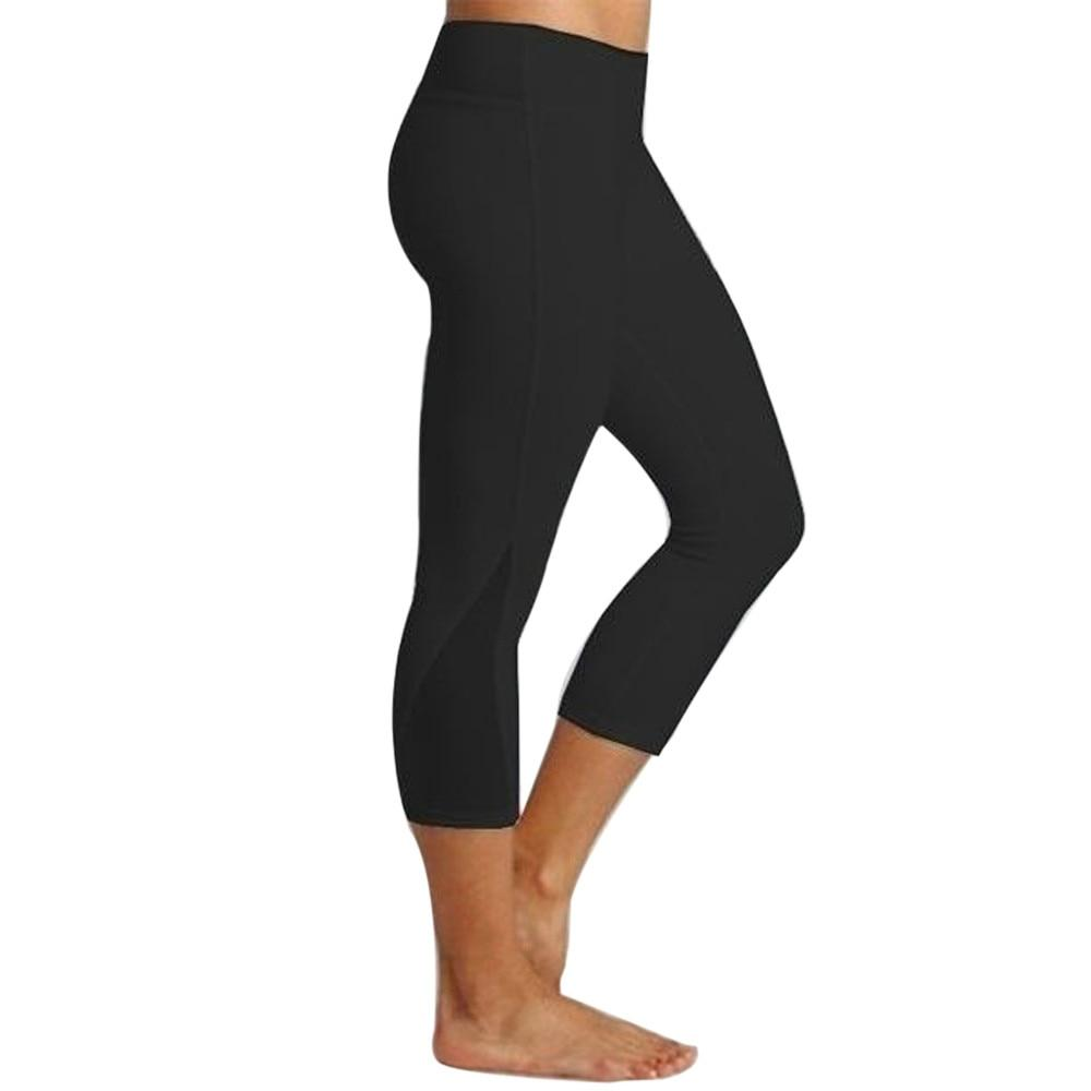 Quarter length workout leggings - Dots Clothing Store