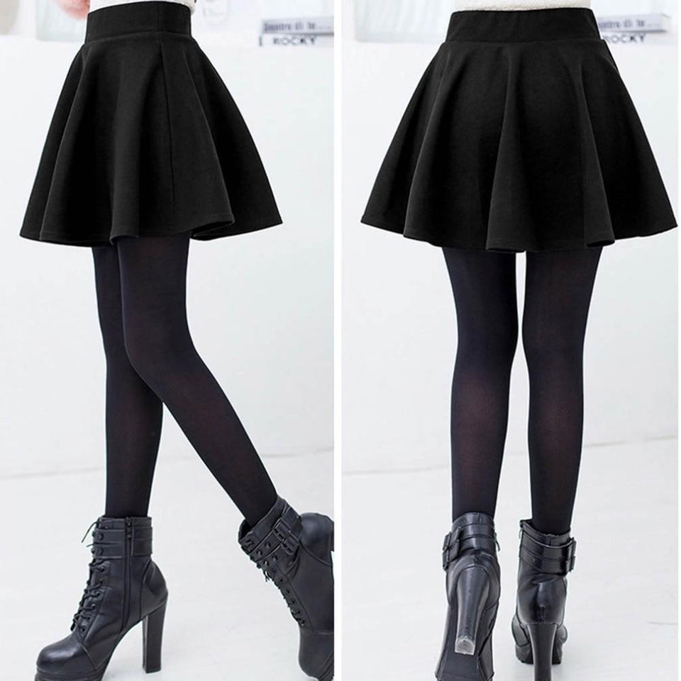 Short Skater Skirt - Dots Clothing Store