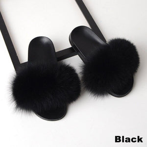 Totally Fur Slides - Dots Clothing Store