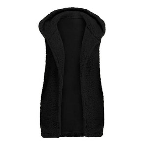 Ever warm Faux Fur Hooded Vests