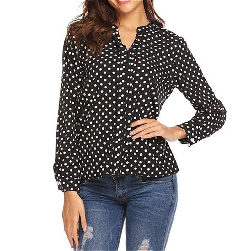 Vintage Polka Dot Top - Dots Clothing Store