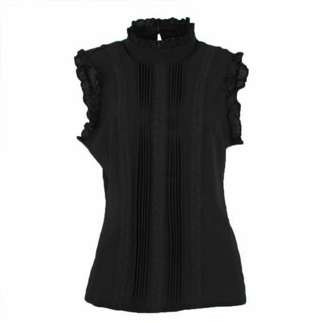 Vogue Ruffled Sleeve Top - Dots Clothing Store