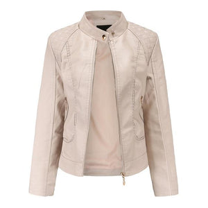 Winter Leather Women Jacket - Dots Clothing Store