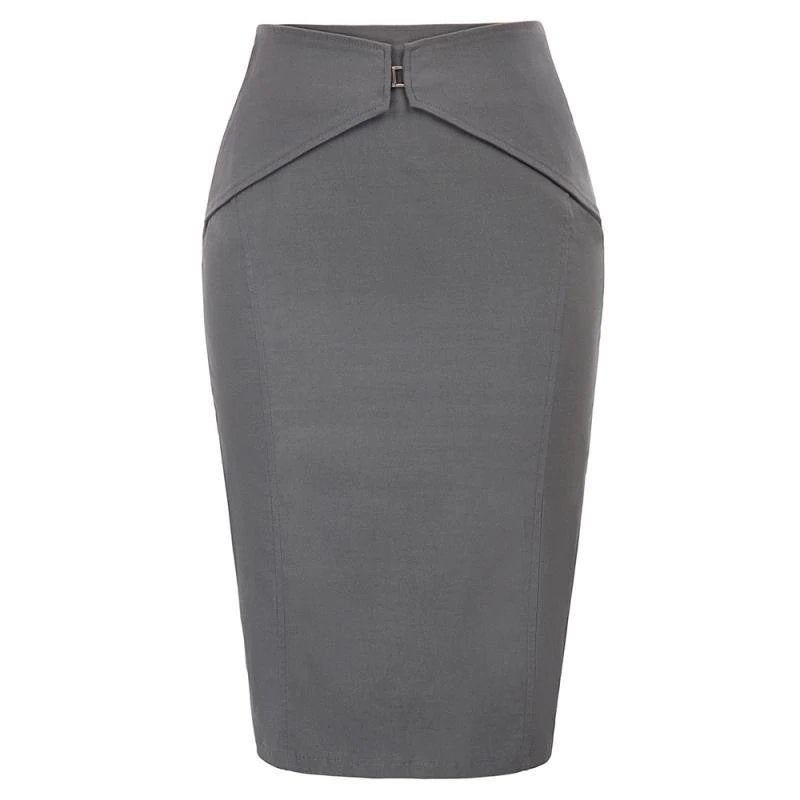 Working Girl Elegant Pencil Skirt - Dots Clothing Store