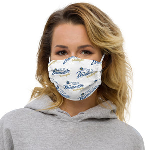 Port of Bremerton Logo microfiber mask