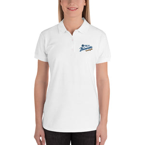 Port of Bremerton Logo Embroidered Women's Polo Shirt