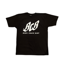 Load image into Gallery viewer, BCB Flame Logo T Shirt black/white