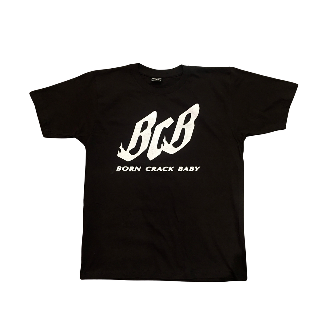 BCB Flame Logo T Shirt black/white