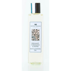 Bergamot Cardamom & Pepper Bath & Shower Gel 200ml