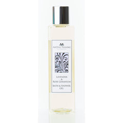 Lavender & Rose Geranium Bath & Shower Gel 200ml