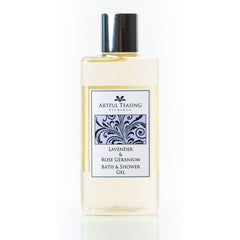 Lavender & Rose Geranium Bath & Shower Gel 300ml