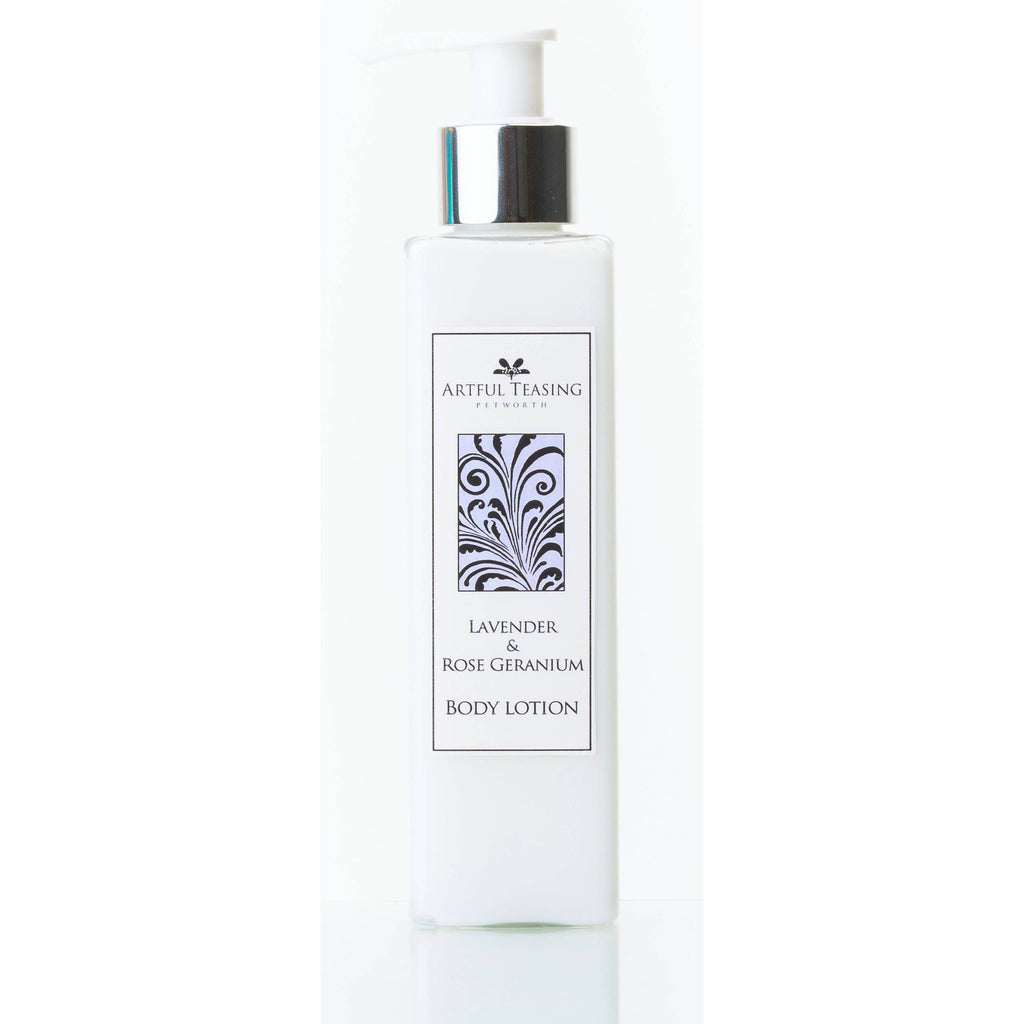Lavender & Rose Geranium Body Lotion 200ml