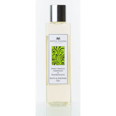 Orange Geranium & Frankincense Bath & Shower Gel 200ml