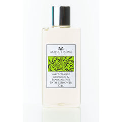 Orange Geranium & Frankincense Bath & Shower Gel 300ml