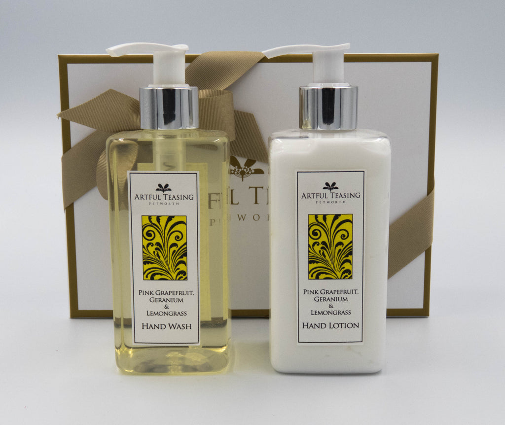 Pink Grapefruit, Geranium & Lemongrass Gift Box