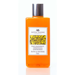 Pink Grapefruit Geranium & Lemongrass Bath & Shower Gel 300ml
