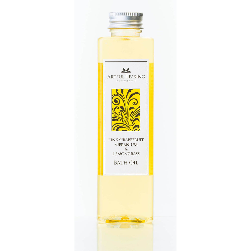 Pink Grapefruit Geranium & Lemongrass Bath Oil 200ml