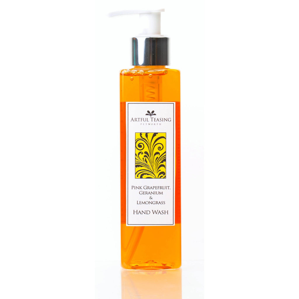 Pink Grapefruit Geranium & Lemongrass Hand Wash 200ml